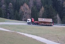 Sondertransport in Südtirol - Eurokran